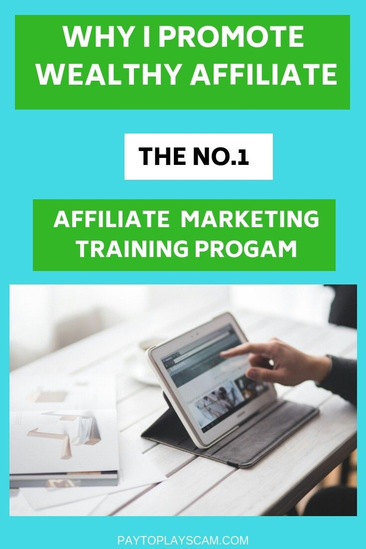 Why I Promote Wealthy Affiliate
