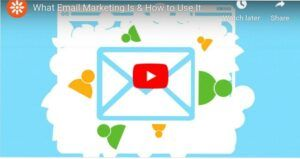 Email marketing youtube video