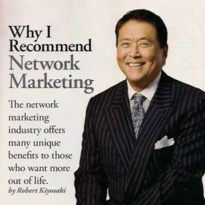 Robert recommends network marketing
