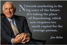 Jim Rohn Recommends Networking Marketing